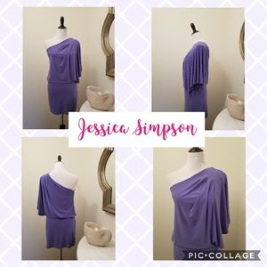 Purple Toga Style Jessica Simpson Dress Size Small